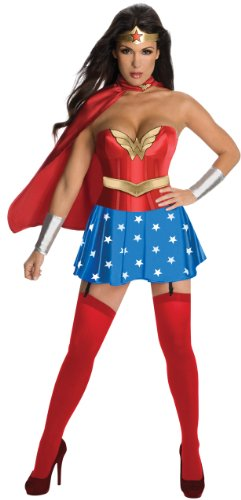 Wonder Woman Corset Costume- Medium