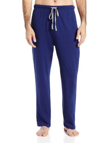 hanes-mens-solid-knit-pant-blue-large