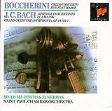 Boccherini: Concerto For Violoncello & Orchestra/J.C. Bach: Symphony Concertante/Bach: Grand Overture