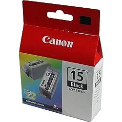 Canon 8190A002 - Carga Inyeccion Tinta Negro Bci-15Bk Pack 2 I/70/80 Ip/90