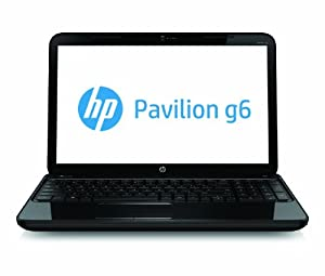 HP Pavilion g6-2237us 15.6-Inch Laptop (Black) Windows 8 - 750GB Hard Drive - 4GB DDR3 RAM - USB 3.0 - HD webcam - Up to 6 hours of battery life - Latest 3rd Gen Intel Core i3-3110M Processor
