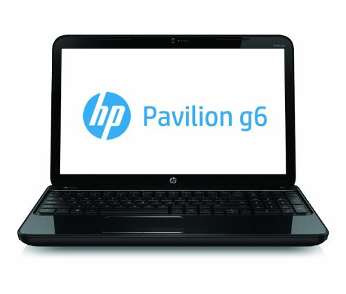 HP Pavilion g6-2237us 15.6-Inch Laptop (Black) Windows 8 - 750GB Hard Drive - 4GB DDR3 RAM - USB 3.0 - HD webcam - Up to 6 hours of battery sustenance - Latest 3rd Gen Intel Core i3-3110M Processor