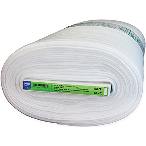 "Review Fusible Fleece 44""X20yds-White"