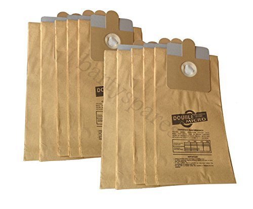bartyspares Extra Strong Dust Hoover Vacuum Cleaner Bags For Rl095 Rl111 Ash Can Debris Ash Bbq Fire Wood Debris Collector Pack Of 10 (Ash Can Vacuum compare prices)