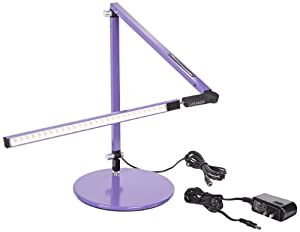 Koncept AR3100-W-PUR-DSK Z-Bar Mini LED Desk Lamp, Warm Light, Purple