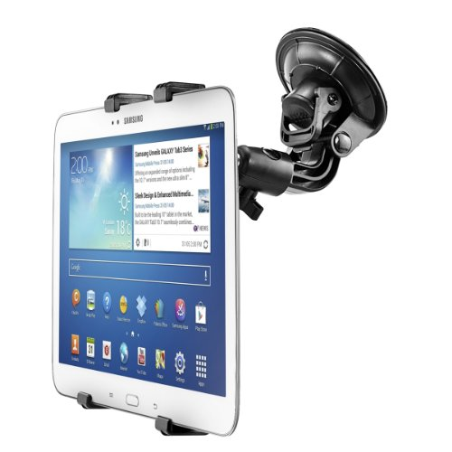 kwmobile® Universal tablet mount for Samsung Galaxy Tab 3 10.1 P5200 / P5210 / P5220 - ADJUSTABLE -fits with case. Quality.