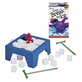 Penguin Pile-Up board game!