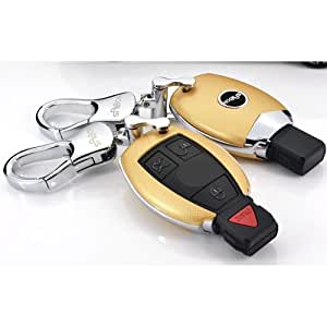 Saibon protective hard shell key fob remote for Mercedes benz amg key fob back cover