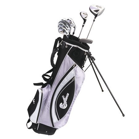 Confidence Golf Lady Power Hybrid Club Set & Stand Bag front-641274
