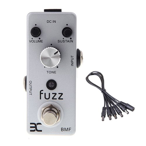 Global Sale Eno Music Ex Micro Bmf Fuzz Guitar Effect Pedal Mini Compact Size True Bypass+5 Way Daisy Chain Cable