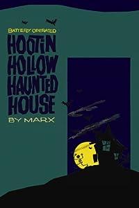 """Hootin Hollow Haunted House"" Print (Canvas 12x18)"