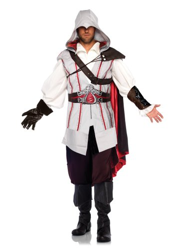 Leg Avenue men's Assassin's Creed 2 Ezio Cosplay Halloween Costume