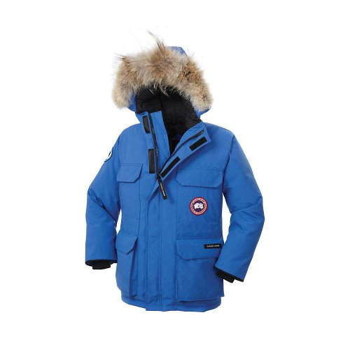Canada Goose Youth Pbi Expedition Parka (Royal Pbi Blue, Medium) (Canada Goose For Boys compare prices)