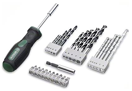 27 Pcs Drill Bit and Screwdriver Set