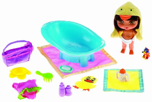 Fisher-Price So Many Surprises Baby Dora Bathtime