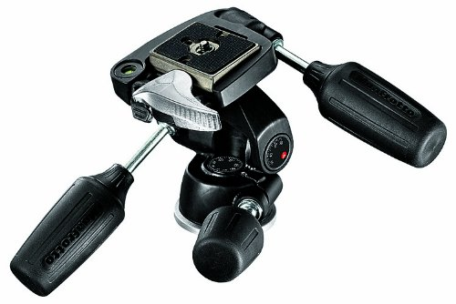 Manfrotto 804RC2 Basic Pan Tilt Head with Quick Release Plate 200PL-14 – Replaces 3047 -Black
