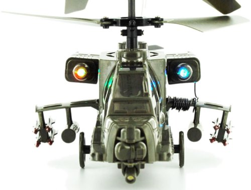 RC Toys Village New Model Apache Military 3CH