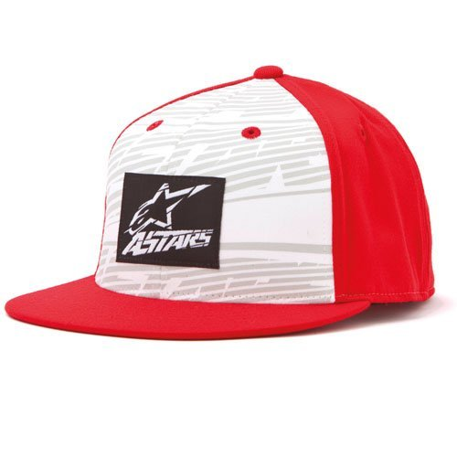 Alpinestars Armstrong 210 Flex Fit Hat Red L/XL Large/X-Large