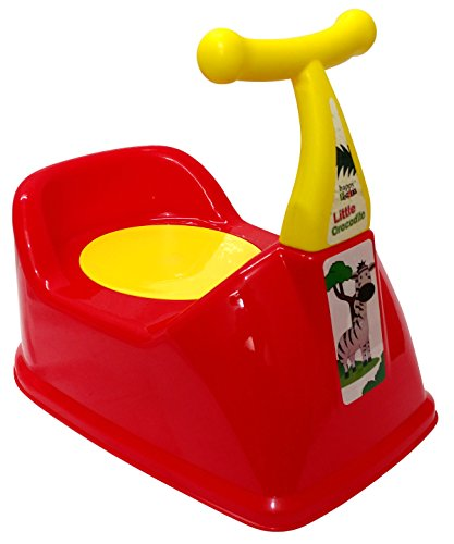 Scooty Baby Potty | Scooty Potty | Kids Potty Scooter  Red  available at Amazon for Rs.599
