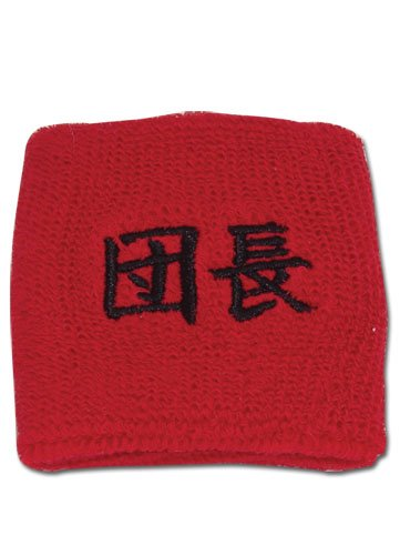 The Melancholy of Haruhi Suzumiya: Club Leader Kanji Red Wristband