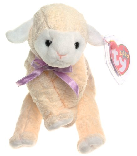 TY Beanie Baby - FLEECIE the Lamb [Toy] - 1