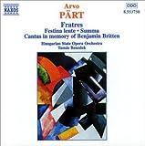 Pärt: Fratres- Festina lente / Summa / Cantus in memory of Benjamin Britten