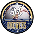 Milwaukee Brewers MLB Wall Clock