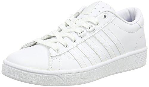 K-Swiss Hoke, Sneaker donna Bianco Bianco (White/White) 37.5