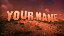 HOLLYWOOD SIGN - ADD YOUR NAME TO THIS CUSTOM HD DIGITAL IMAGE