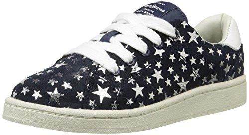 Pepe Jeans  Lane Stars,  Sneaker ragazza Blu Bleu (580Sailor) 32
