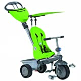 Smart Trike 1960000  - Triciclo reclinable color verde [Importado de Alemania]