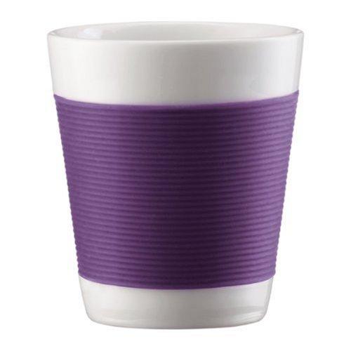 Bodum 10108-278 Canteen 2 Stück Tasse, doppelwandig, 0.1 l, Porzellan