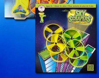 Sky Scrapers Flying Disks Refill Pack - 1