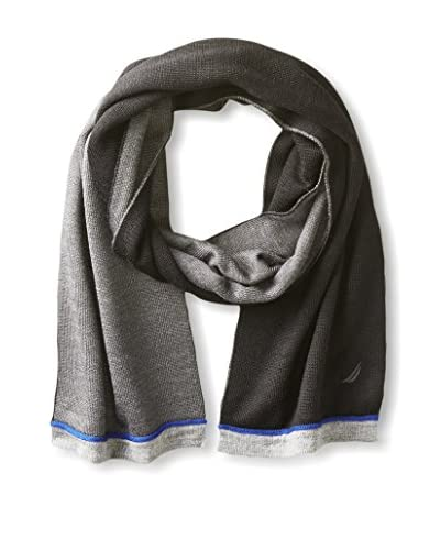 Nautica Men's Reversible Color Block Scarf