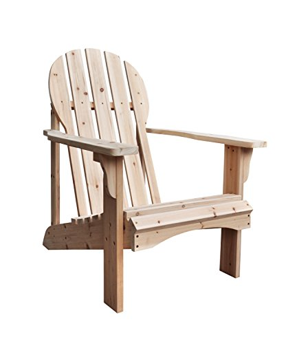 Unfinished Wood High Chair front-949655