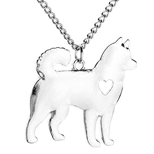 JOVIVI-I-Love-My-Dog-Lover-Heart-HuskyPoodleCorgiAlaska-Pet-Puppy-Rescue-Pendant-Necklace