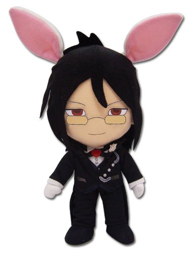 Black Butler – 8″ Rabbit Sebastian Anime Plush image