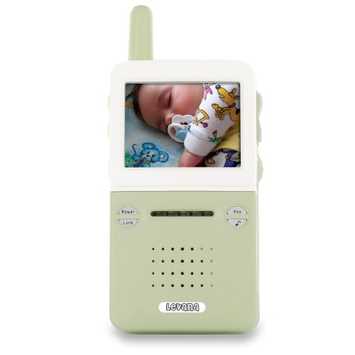 Levana BABYVIEW20 Interference Free Digital Wireless Video Baby Monitor with Night Light Lullaby Camera