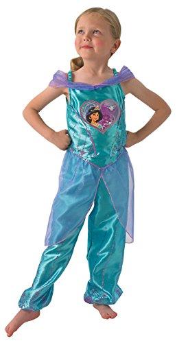Disney Princess - Disfraz Jasmine Aladdín para niña a partir de 7 años (Rubies 610282L)