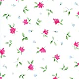Rosario Roses Floral Contact Paper 24 ft. Roll