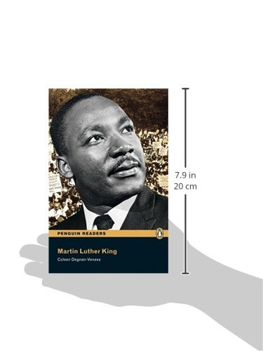 Penguin Readers 3: Martin Luther King Book & MP3 Pack (Pearson English Graded Readers)