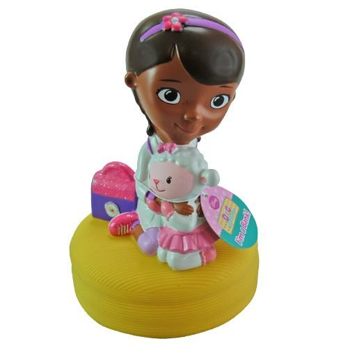 "Disney Princess Doc McStuffins 11"" Molded Coin Bank for Girls - 1"