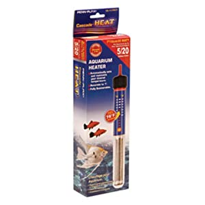"Cascade® Heat® 7"" Aquarium Heater 25 Watt for 5 Gallon Tanks"