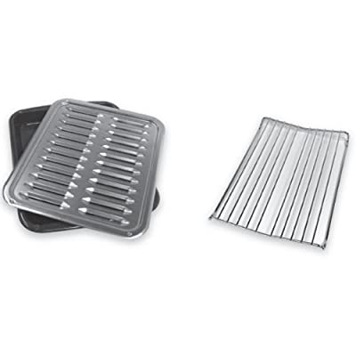 Whirlpool W10123240 Premium Broil Pan and Roasting Rack