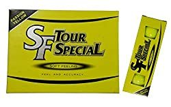 SRIXON SF TOUR SPECIAL GOLF BALLS (PACK OF 12 YELLOW BALLS)