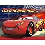 Disney Cars Party Invitations & Envelopes