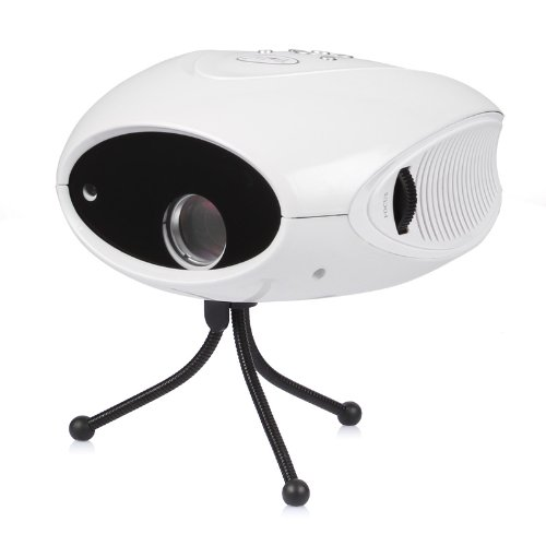 Bolic Blc-007B Mini Trendy Portable Hd Home Theater Cinema Digital Lcd Projector Led / Av / Tv White