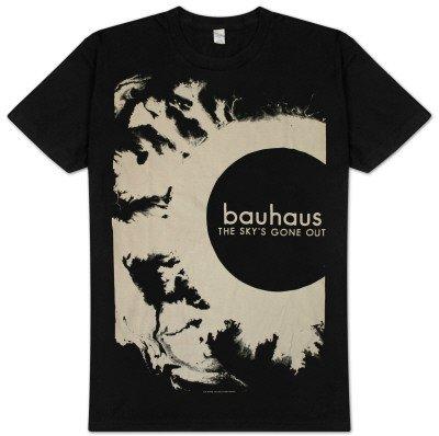 Old Glory - Bauhaus - Uomo The Sky's Gone Out Premium Print T-shirt Medium Nero
