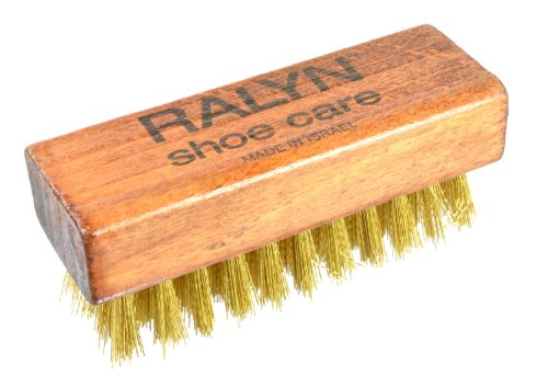 Ralyn Brass Suede Brush 1 Pc. (Suede Cleaner Brush compare prices)