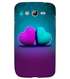 Samsung Galaxy GRAND MULTICOLOR PRINTED BACK COVER FROM GADGET LOOKS